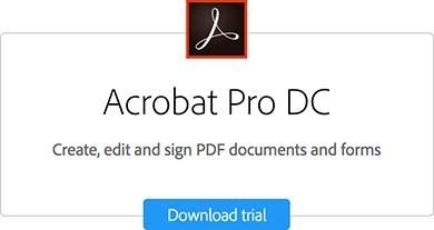 Acrobat Pro Download trial