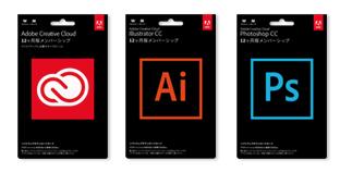 Creative Cloud Illustrator Photoshop Keycard